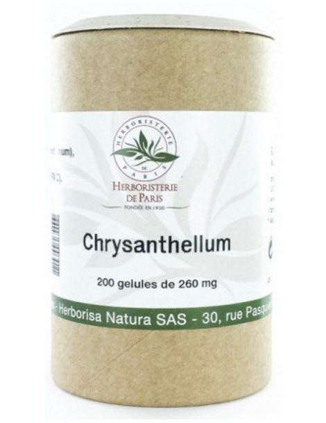 Chrysanthellum Americanum Vitamine E 200 Gélules Herboristerie de Paris foie et circulation
