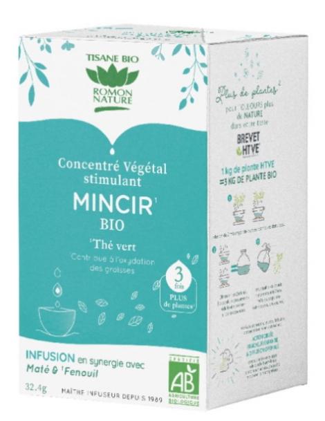 Tisane concentrée Mieux mincir 18 sachets Romon Nature