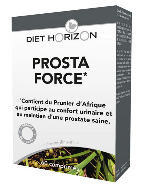Prosta Force 60 comprimés Diet Horizon confort urinaire Herboristerie de paris