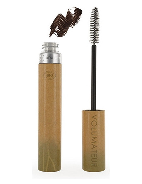 Mascara naturel No 42 brun volumateur 9 ml Couleur Caramel mascara minéral Herboristerie de paris