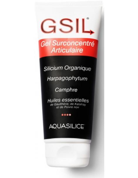 GeSil Gel Surconcentre Articulaire 200ml Aquasilice silicium organique Herboristerie de paris