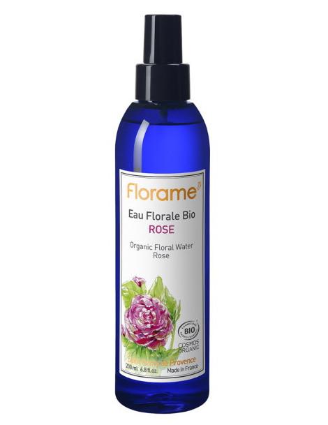 Brumisateur d'Eau florale de Rose 200ml Florame hydratant et anti-âge Herboristerie de paris