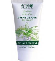Crème hydratante visage Gel Natif Aloe vera 50 ml C'Bio