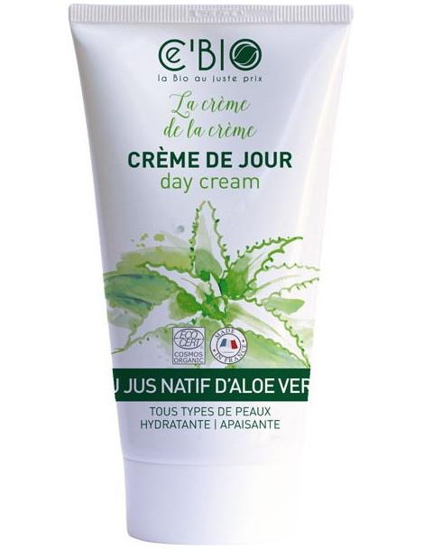 Crème hydratante visage Gel Natif Aloe vera 50 ml C'Bio peaux sensibles Herboristerie de paris