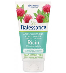Après Shampoing conditionneur démêlant fortifiant Ricin Kératine Végétale 150 ml Natessance