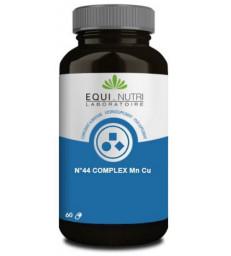 N°44 complex Manganèse Cuivre 60 gélules végétales Equi - Nutri