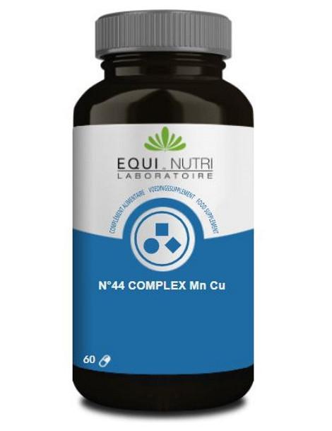 N°44 complex Manganèse Cuivre 60 gélules végétales Equi - Nutri Herboristerie de paris