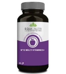 No 12 Multi-Vitamines Plus Ginseng  90 gelules Equi - Nutri