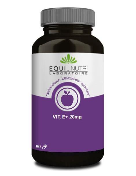 Vitamine E Naturelle Alpha Tocopherol 90 gelules Equi - Nutri anti radicaux libres Herboristerie de paris