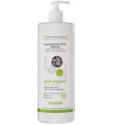 Shampoing doux familial usage fréquent Argile blanche 1 litre Dermaclay