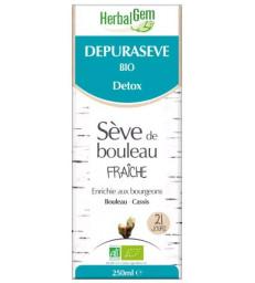 Depurasève Bio Sève de bouleau 250 ml Herbalgem