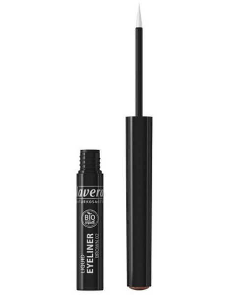 Eye liner liquide Marron 02 3.5 ml Lavera maquillage minéral Herboristerie de paris