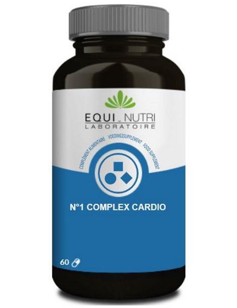 No 1 Complex Cardio 60 gélules végétales Equi - Nutri fonction cardiaque Herboristerie de paris