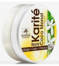 Beurre de Karité Coco Monoï 150ml Naturado