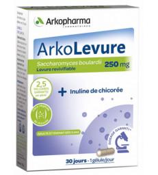 Arkolevure Levure boulardii Saccharomyces boulardii 30 gélules Arkopharma