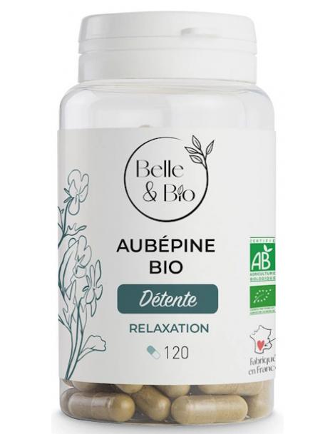 Aubépine 120 gélules Belle et Bio stress Herboristerie de paris