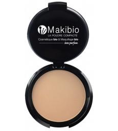 Poudre compacte Nude Naturel 9 gr Makibio