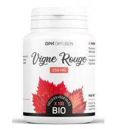 Vigne Rouge Bio 250 mg 200 gélules végétales GPH Diffusion
