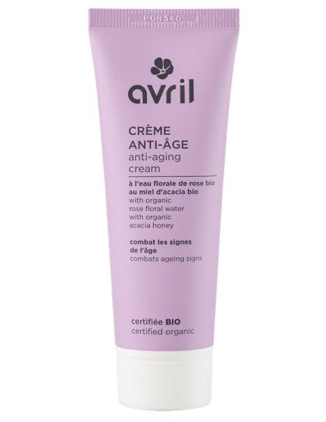 Crème de jour anti âge 50 ml Avril Beauté antirides hydrlat de rose Herboristerie de paris