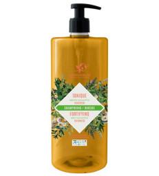 Shampoing douche Tonique 2 en 1 Menthe Eucalyptus 1L Cosmo Naturel
