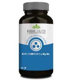 N°41 complex Ca Mg Mn 60 gélules Equi - Nutri