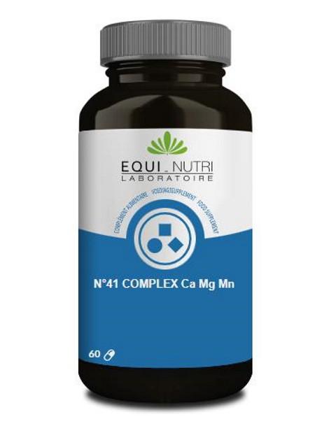 N°41 complex Ca Mg Mn 60 gélules Equi - Nutri Herboristerie de paris