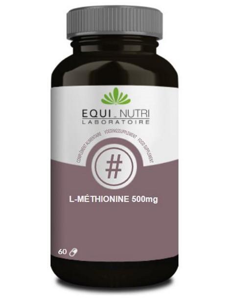 L Méthionine 60 gélules végétales 500mg Equi - Nutri herboristerie de paris