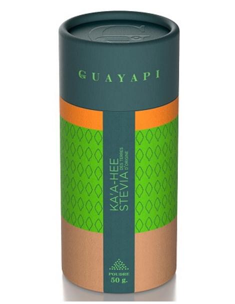 Stevia poudre verte 50 gr Guayapi pouvoir sucrant important Herboristerie de paris
