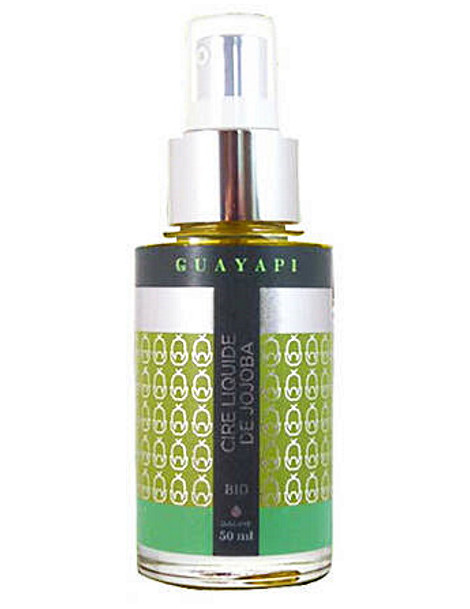 Cire liquide de jojoba pure 50 ml Guayapi cire protectrice et hydratante Herboristerie de paris