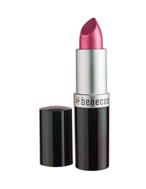 Rouge à lèvres Rose Hot Pink 4.5gr Benecos maquillage minéral bio Herboristerie de paris