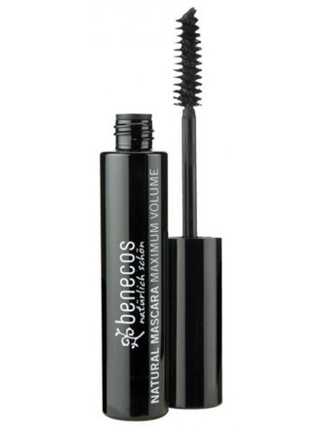 Mascara Maxi Volume - Noir profond deep black 8ml Benecos maquillage minéral Herboristerie de paris