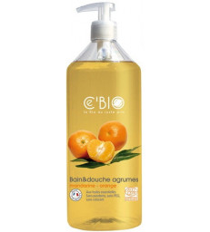 Bain et douche Agrumes Mandarine Orange 500 ml C'Bio