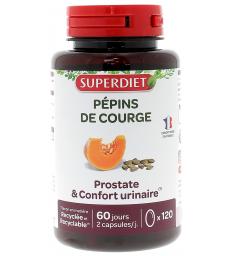 Huile de Pepins de Courge 120 capsules Super Diet