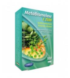 Meta bromelase C 2500 1P/J 100 gélules Orthonat