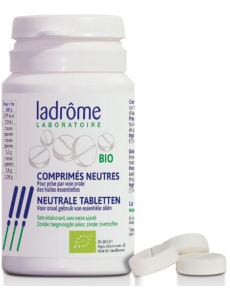 Comprimés neutres bio pour huiles essentielles x30 Ladrôme aroma Herboristerie de paris