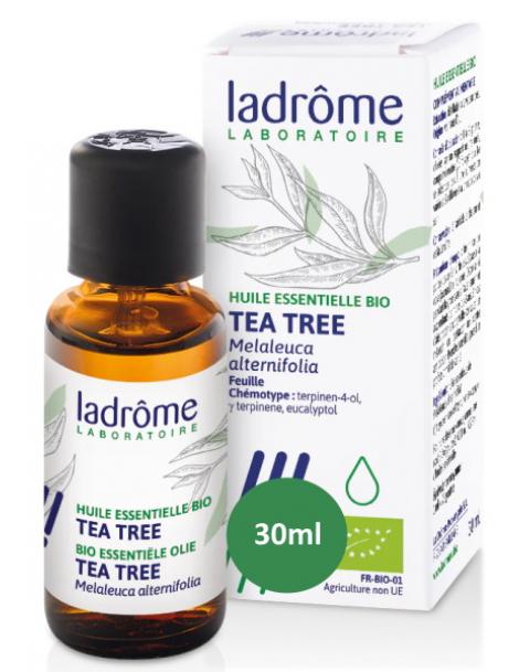 Huile essentielle bio Tea Tree 30 ml Ladrôme aromathérapie bio Herboristerie de paris