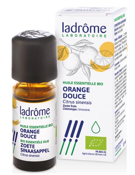 Huile essentielle bio Orange douce 10 ml Ladrôme vitalité pureté Herboristerie de paris