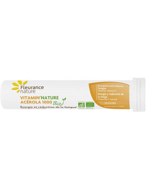Acérola Bio 20 comprimés Fleurance Nature Herboristerie de paris