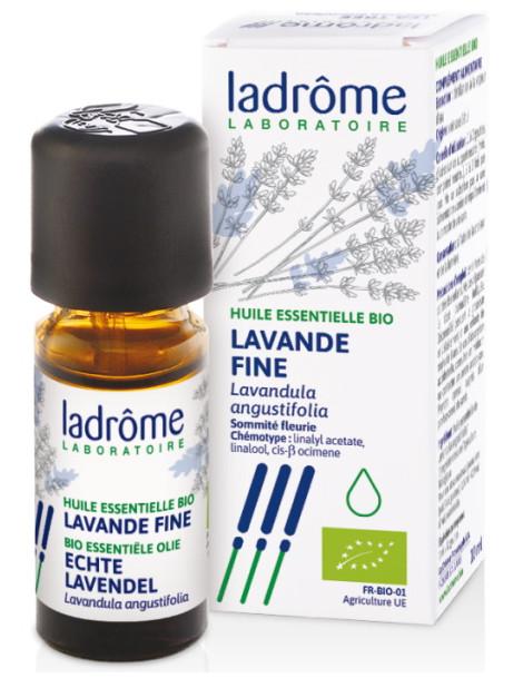 Huile essentielle bio Lavande Fine 10 ml Ladrôme stress Herboristerie de paris