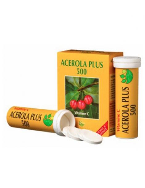 Acérola Plus 500 naturelle Boite de 2 tubes de 15 comprimés x30 Phyto-Actif Herboristerie de Paris