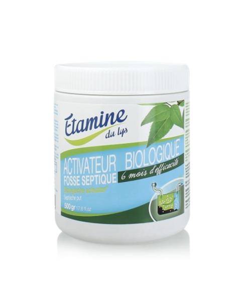 Activateur biologique fosses septiques 0.500 gr Etamine du Lys Herboristerie de Paris
