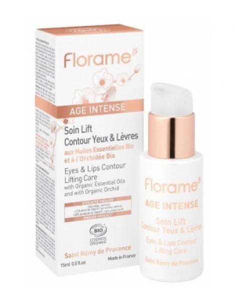 Age intense Soin lift contour yeux et lèvres 15ml Florame Herboristerie de Paris
