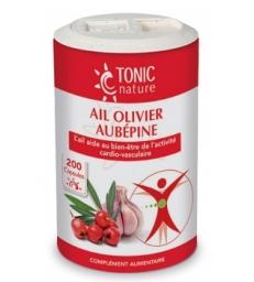 Ail + Olivier + Aubépine 200 capsules Tonic Nature