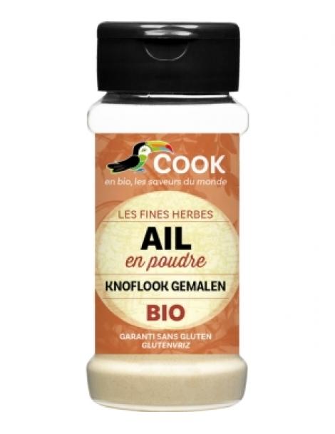 Ail en poudre 45 gr Cook Herboristerie de Paris