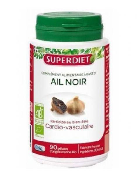 Ail noir bio 90 capsules Super Diet Herboristerie de Paris