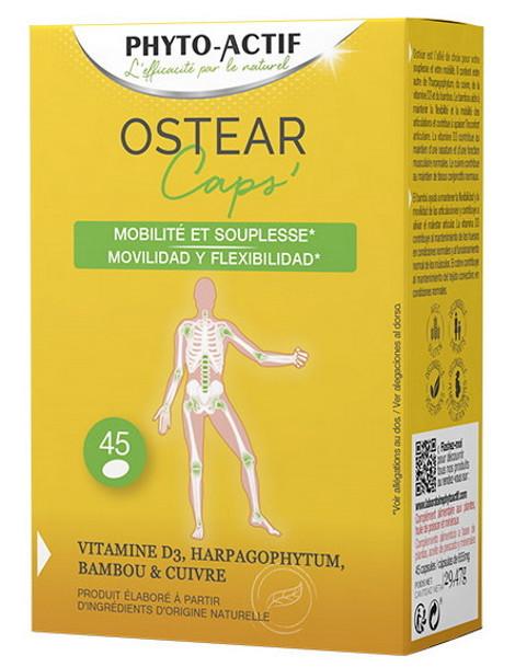 Ostear Mobilité et Souplesse 45 capsules Phyto-actif