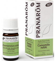 Huile essentielle Camomille noble Bio compte gouttes 5ml Pranarôm