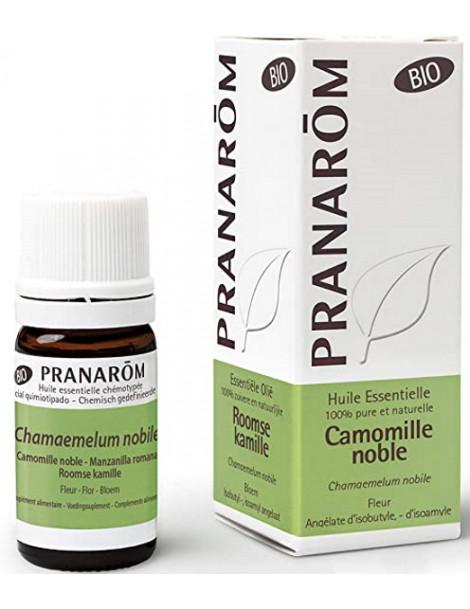 Huile essentielle Camomille noble Bio compte gouttes 5ml Pranarôm camomille romaine Herboristerie de paris
