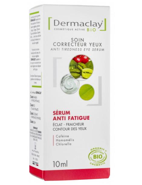 Sérum Correcteur Contour Yeux Anti Fatigue 10ml Dermaclay anti-cernes anti-âge Herboristerie de paris