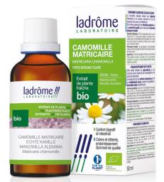 Extrait de plantes fraiches Camomille matricaire bio 50ml Ladrôme